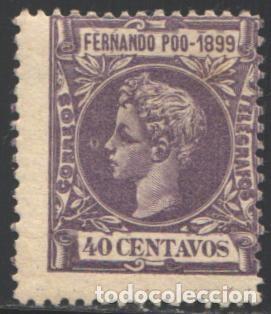 FERNANDO POO, 1899 EDIFIL Nº 65 /*/ (Sellos - España - Colonias Españolas y Dependencias - África - Fernando Poo)