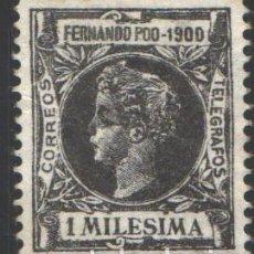 Timbres: FERNANDO POO, 1900 EDIFIL Nº 74 . Lote 194926178