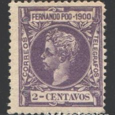 Timbres: FERNANDO POO, 1900 EDIFIL Nº 80 . Lote 194928478