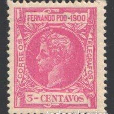 Timbres: FERNANDO POO, 1900 EDIFIL Nº 81 /*/, BIEN CENTRADO. Lote 194928795