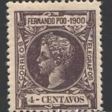 Timbres: FERNANDO POO, 1900 EDIFIL Nº 82 /*/, . Lote 194933020