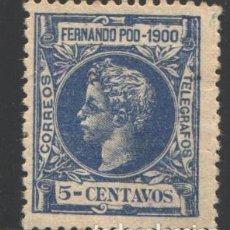 Timbres: FERNANDO POO, 1900 EDIFIL Nº 83 . Lote 194933347