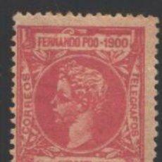 Timbres: FERNANDO POO, 1900 EDIFIL Nº 84. Lote 194934255