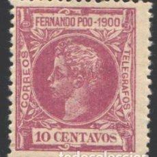 Timbres: FERNANDO POO, 1900 EDIFIL Nº 86. Lote 194935483