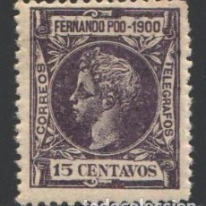 Sellos: FERNANDO POO, 1900 EDIFIL Nº 87 /*/, BIEN CENTRADO. Lote 194937812