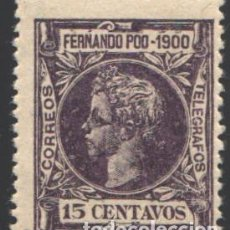 Sellos: FERNANDO POO, 1900 EDIFIL Nº 87 . Lote 194937958