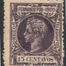 Sellos: FERNANDO POO, 1900 EDIFIL Nº 87 . Lote 194937977