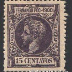 Sellos: FERNANDO POO, 1900 EDIFIL Nº 87 . Lote 194938187