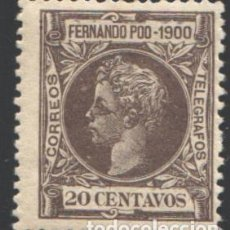 Sellos: FERNANDO POO, 1900 EDIFIL Nº 88. Lote 194954493