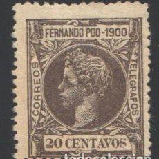 Sellos: FERNANDO POO, 1900 EDIFIL Nº 88. Lote 194954547