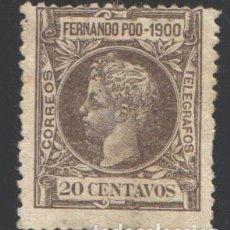 Sellos: FERNANDO POO, 1900 EDIFIL Nº 88. Lote 194954581