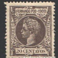 Sellos: FERNANDO POO, 1900 EDIFIL Nº 88, /*/ BIEN CENTRADO. Lote 194954652