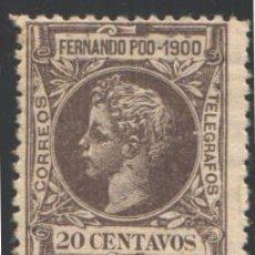 Sellos: FERNANDO POO, 1900 EDIFIL Nº 88, . Lote 194954682