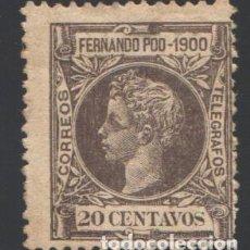 Sellos: FERNANDO POO, 1900 EDIFIL Nº 88,. Lote 194954750