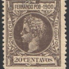 Sellos: FERNANDO POO, 1900 EDIFIL Nº 88, . Lote 194954865