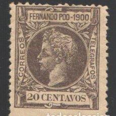 Sellos: FERNANDO POO, 1900 EDIFIL Nº 88, . Lote 194954910