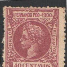 Sellos: FERNANDO POO, 1900 EDIFIL Nº 89 . Lote 194955152