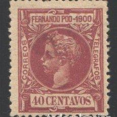 Sellos: FERNANDO POO, 1900 EDIFIL Nº 89 . Lote 194955170