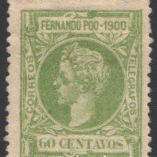 Sellos: FERNANDO POO, 1900 EDIFIL Nº 90 /*/. Lote 194955951