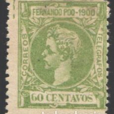 Sellos: FERNANDO POO, 1900 EDIFIL Nº 90 /*/. Lote 194956165