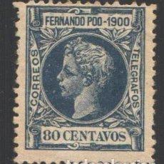 Sellos: FERNANDO POO, 1900 EDIFIL Nº 91 /*/. Lote 194957038