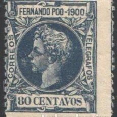 Sellos: FERNANDO POO, 1900 EDIFIL Nº 91 /*/. Lote 194957111
