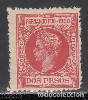 FERNANDO POO, 1900 EDIFIL Nº 93 /*/ (Sellos - España - Colonias Españolas y Dependencias - África - Fernando Poo)