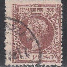 Sellos: FERNANDO POO, 1900 EDIFIL Nº 92. Lote 194957988