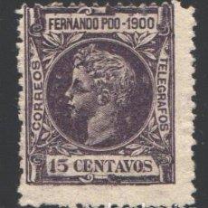 Sellos: FERNANDO POO, 1900 EDIFIL Nº 87. Lote 194961092