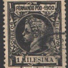 Francobolli: FERNANDO POO, 1900 EDIFIL Nº 74. Lote 194967528