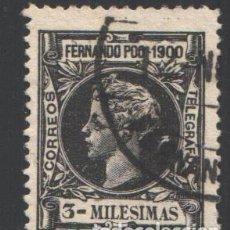Francobolli: FERNANDO POO, 1900 EDIFIL Nº 76. Lote 194967655