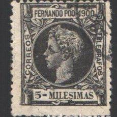 Francobolli: FERNANDO POO, 1900 EDIFIL Nº 78. Lote 194967790
