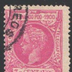 Francobolli: FERNANDO POO, 1900 EDIFIL Nº 81. Lote 194968080