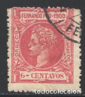 FERNANDO POO, 1900 EDIFIL Nº 84 (Sellos - España - Colonias Españolas y Dependencias - África - Fernando Poo)