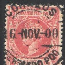 Sellos: FERNANDO POO, 1900 EDIFIL Nº 84. Lote 194968472