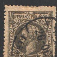 Sellos: FERNANDO POO, 1900 EDIFIL Nº 85. Lote 194968587