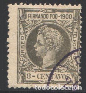 FERNANDO POO, 1900 EDIFIL Nº 85 (Sellos - España - Colonias Españolas y Dependencias - África - Fernando Poo)