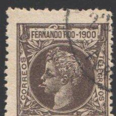 Sellos: FERNANDO POO, 1900 EDIFIL Nº 88. Lote 194968922