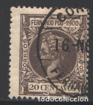 FERNANDO POO, 1900 EDIFIL Nº 88 (Sellos - España - Colonias Españolas y Dependencias - África - Fernando Poo)