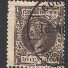 Sellos: FERNANDO POO, 1900 EDIFIL Nº 88. Lote 194968952
