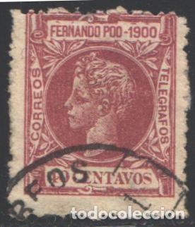 FERNANDO POO, 1900 EDIFIL Nº 89 (Sellos - España - Colonias Españolas y Dependencias - África - Fernando Poo)