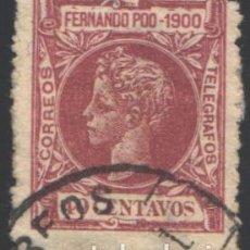Sellos: FERNANDO POO, 1900 EDIFIL Nº 89. Lote 194969128