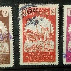 Sellos: FISCAL MARRUECOS IMPUESTO DEL TIMBRE. Lote 195475450