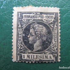 Selos: +FERNANDO POO 1900, ALFONSO XIII, EDIFIL 74. Lote 195694455
