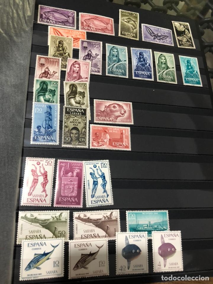 Sellos: Lote de sellos del Sahara - Foto 2 - 195908005