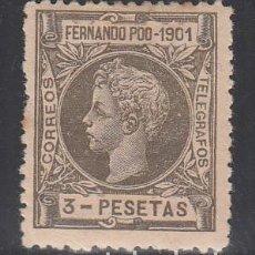 Timbres: FERNANDO POO, 1901 EDIFIL Nº 106 /*/. Lote 195953532
