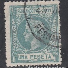 Timbres: FERNANDO POO, 1901 EDIFIL Nº 104. Lote 195963206