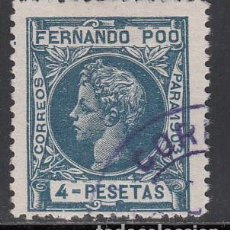 Timbres: FERNANDO POO, 1902 EDIFIL Nº 133. Lote 196018087