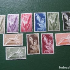 Sellos: +IFNI 1954, SERIE BASICA, FLORA Y FAUNA, EDIFIL 103/113. Lote 196039252