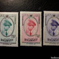 Sellos: MARRUECOS. REINO. EDIFIL 27/9 SERIE COMPLETA NUEVA ***. MOHAMED 1957. MACHITAS DEL TIEMPO.. Lote 196244800